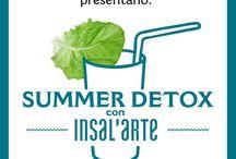 """Summer Detox con Insal'Arte"""