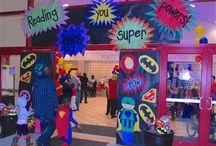 Super Hero Classroom