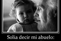 Abuelos y nietos / y abuelos