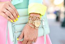 Spring Inspiration / Pastels and sorbet hues for spring