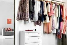 Interior | Closet Inspiration / I want this closets!!  Walk in wardrobes are the best thing in the world. I could not imagine how all of my stuff should fit in one cupboard?