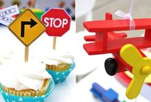 Planes, Trains & Automobiles Birthday Party
