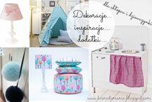 Inspiracje i dekoracje/inspiration and decoration / Inspiracje, dodatki i mebelki do pokoi dzieci. Piękne i niepowtarzalne .kosmetomama.pl