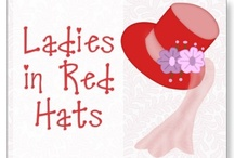 Red Hat Society / by Vivienne Malone