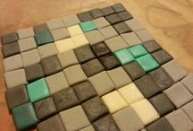 minecraft diamond cake