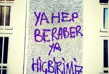 Gezi Duvar yazıları