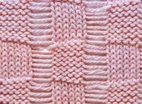 In stitches / Interesting knit stitch designs / by Jill Tarabar