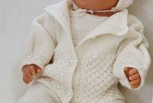 Knit Patternsbabybset