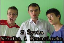 Z życia Włodka i Franciszka / Perypetie dwóch menelowatych koleżków - Włodzimierza Lolka i Franciszka Szczurka