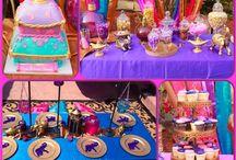 Festa tema Aladdin