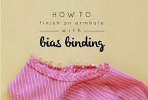 Ompelu ohjeita - Sewing tutorials