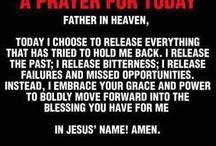 Prayer and inspiration