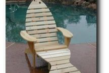 Кресла, стулья из дерева