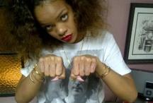 Rihanna's Finger Tattoos
