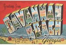 Vintage Savannah Postcards / Enjoy this look back at Savannah, GA! Postcards donated to Live Oak Public Libraries by the family of Arthur Lloyd Saunders.  / by Live Oak Public Libraries