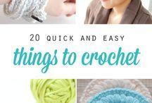 crochet projet's