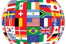 International Theme Party Ideas and International Party Decorations / Beinvue! Have an international party theme at your next event. We have scoured the globe to find the most interesting international party ideas. We have also added some of our favorite international party supplies as well.