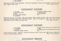Written recipes