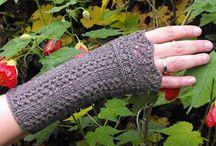 Sticka-knitting / stickning och virka