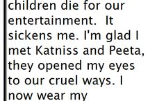 Hunger games. / by Kayla Bowker