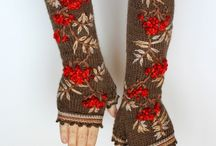 Embroidery on Knitting and Crochet