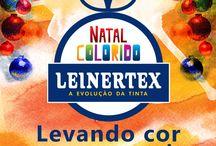 Campanha Natal Colorido Leinertex