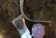 My jewelry and silversmithing / Hand made sterling silver and gold jewelry and holloware by Jon Stein Design / by Jon Stein