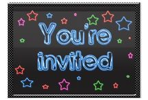 Invitations For Parties / Invitations you can use for birthday parties or any other event that fits. (G-Rated Images ONLY  - NO SPAM.  Abusers will be removed) To request an invite to this board, please follow the board and then send me a request by either commenting on one of MY pins (gollygirls) or contacting me via my Golly Girls facebook page.