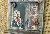 Παλιές πόρτες-παράθυρα κατασκευή