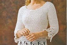 blusas a crochet / by raisa rivero