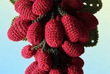 Frutos e flores 3 d