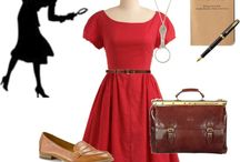 Nancy Drew Style / Dresses inspired by Nancy Drew Character
