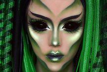 Alien photo shoot