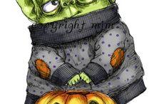 Halloween / Stempelkaarten