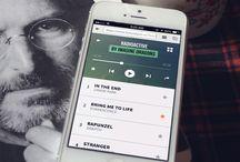 Mobile UI \\ Music Player