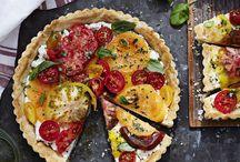 Miam ! Tartes-Tourtes-Pizza salées