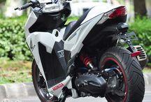 Vario Big Tire Modification
