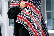 Nordic knitting / норвежские узоры