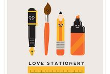 Stationery / I have loved stationery, paper goods and books for as long as I can remember... I could wander hours in a department store's paper department and finger things...  / by Ketutar J.