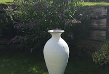 Large and beautiful urns