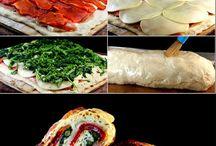 Brot und Pizza