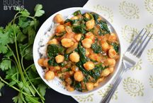 Recipes for Indian and Middle Eastern