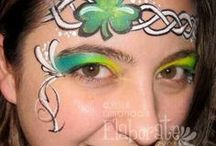 Celtic facepainting