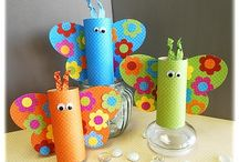 {crafting~for kids} / ideas of crafts that kids can make