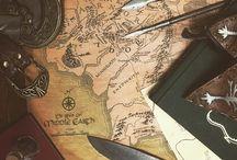 Tolkien moodboard