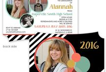 Graduation Invitations / Custom photo Graduation announcements and invitations