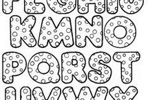 letras moldeb