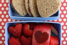 Bento Lunches - Valentine's Day / Love is in the lunch box! / by Wendy Copley - Wendolonia