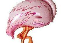 Птицы pink шары