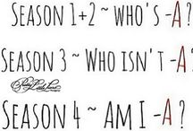 pretty little liars / two can keep a secret if one of them are dead